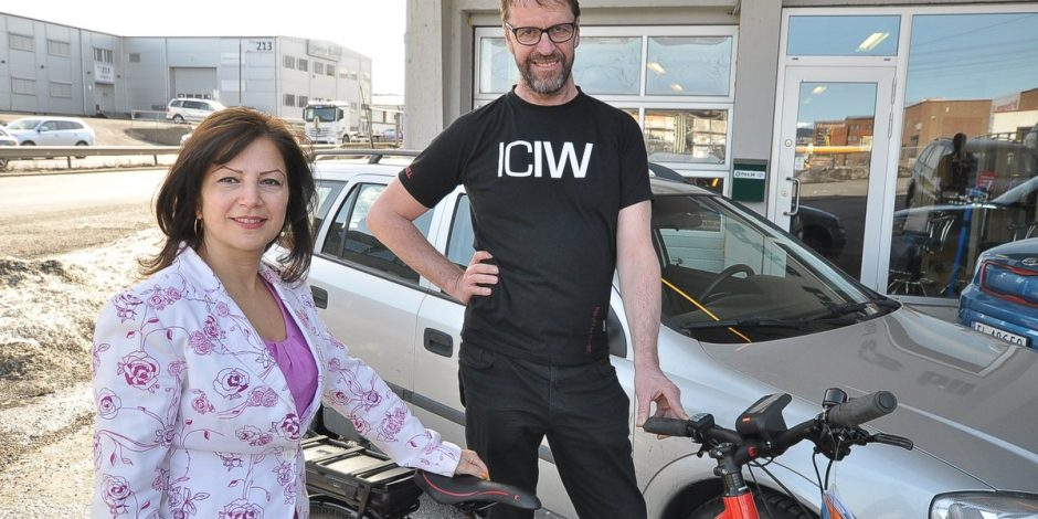 Bilselgeren som heller vil selge deg elsykkel